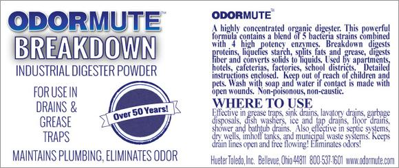"""Breakdown Industrial Digester powder Powder"""